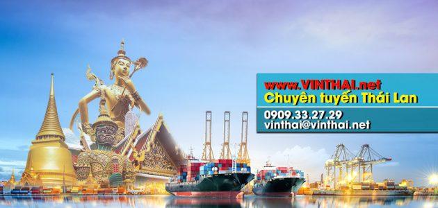 Vinthai chuyển hàng siêu tốc từ Thái Lan về Việt Nam
