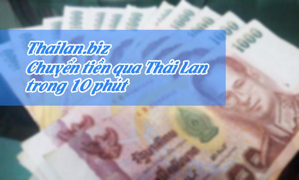 Dịch vụ chuyển tiền từ Việt Nam sang Thái Lan