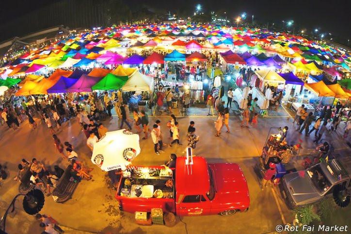 Chợ đầu mối Thái Lan