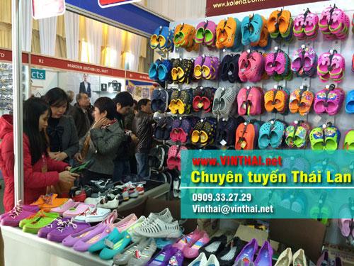 Chợ giày dép Thái Lan