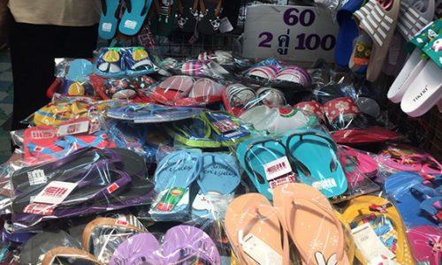 Nguồn cung cấp giày dép Thái Lan giá gốc