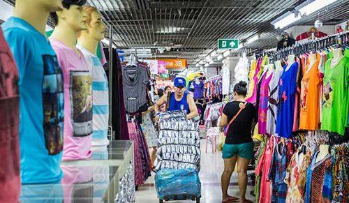 Cách nhập quần áo Thái Lan giá sỉ HCM