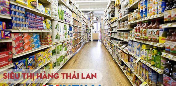 Hàng tiêu dùng Thái Lan là một trong những mặt hàng bán chạy nhất hiện nay