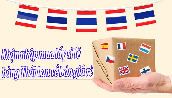 Nhập hàng Thái Lan giá rẻ