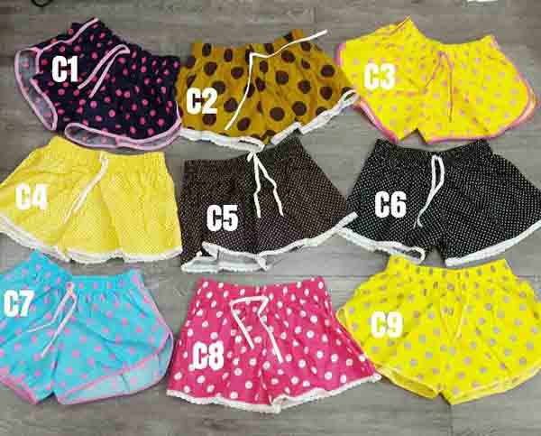Hầu hết các chợ sỉ ở Thái đều có bán quần đùi Thái Lan