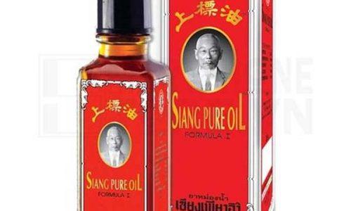 Dầu gió thái lan Siang Pure Oil có tốt như lời đồn? Mua ở đâu?
