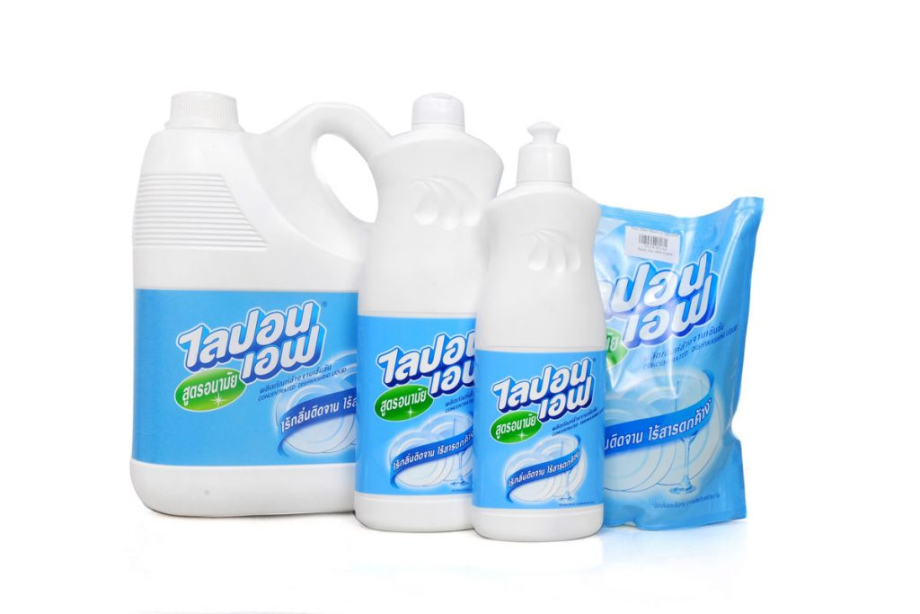 Nước rửa bát Thái Lan là mặt hàng rất được ưa chuộng tại Việt Nam.