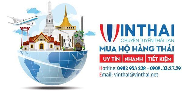 VinThai là công ty chuyên mua hộ hàng Thái Lan với hơn 10 năm kinh nghiệm