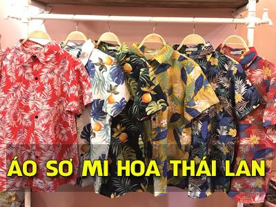 Hướng dẫn bạn nhập áo sơ mi hoa Thái Lan qua dịch vụ mua hộ