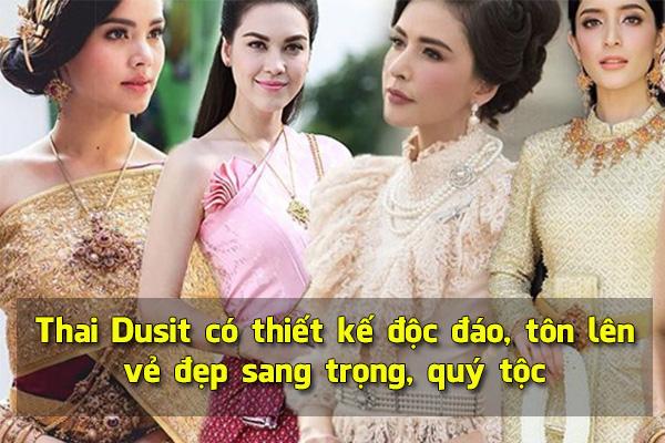 Thai Dusit có thiết kế độc đáo, tôn lên vẻ đẹp sang trọng, quý tộc